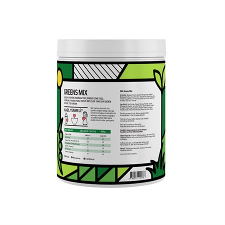 Protein Superfood Mix Greens 360gr.